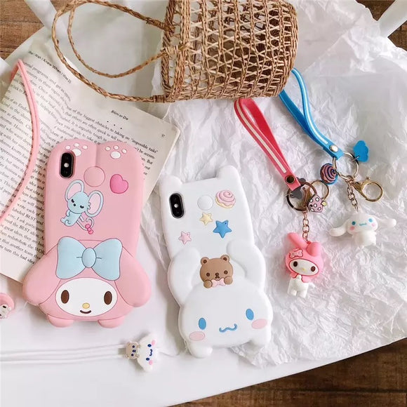 DDLGVERSE My Melody And Cinnamoroll iPhone Cases