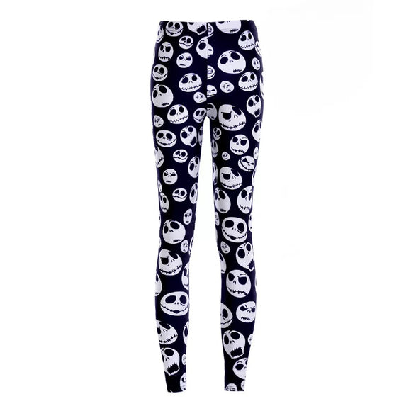 DDLGVERSE Jack Skellington Leggings