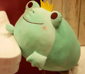 Royal Frog Stuffie