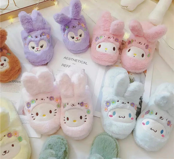 Kawaii Cartoon Slippers