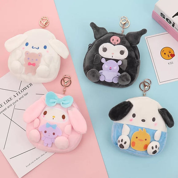 Sanrio Plush Coin Purse