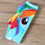DDLGVERSE Rainbow Dash Socks Folded