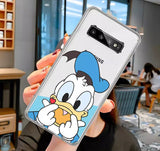 DDLGVERSE Disney Clear Samsung Case Donald