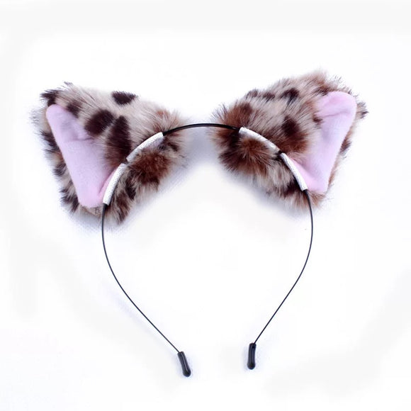Leopard Ears Headband