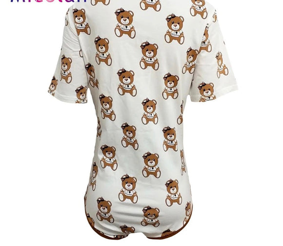 DDLGVERSE Designer Bear Onesie rear view