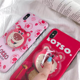 DDLGVERSE Lotso iPhone Case Sqish Centre