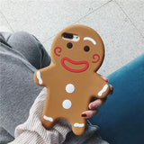 DDLGVERSE Gingerbread Man iPhone Case