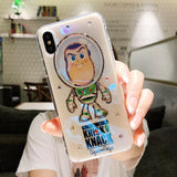 DDLGVERSE Toy Story iPhone Case Buzz Clear