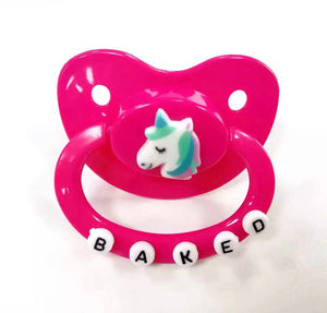 Decorated Adult Pacifier