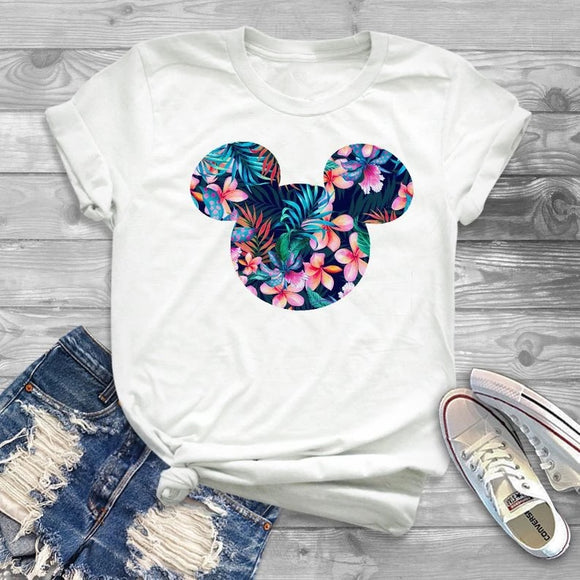 DDLGVERSE Mouse Head Printed Tee
