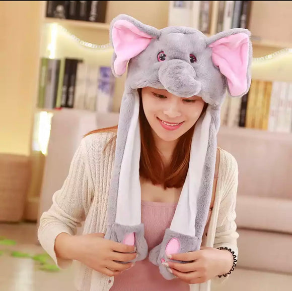 DDLGVERSE Plush Elephant Hat