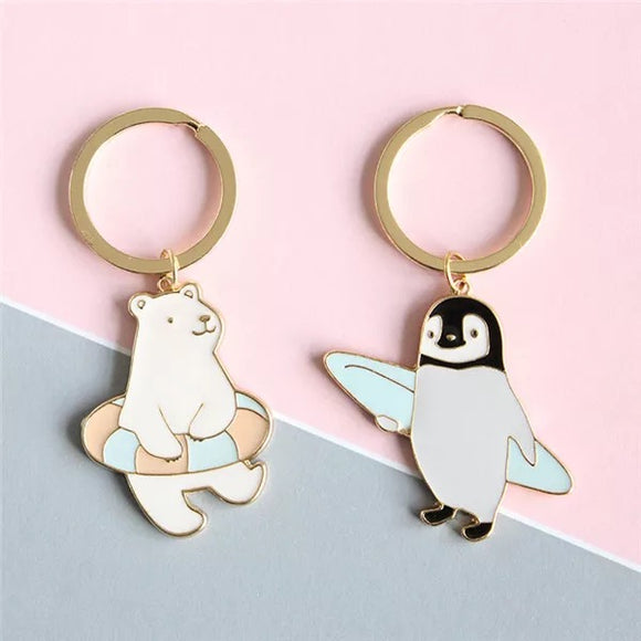 Arctic Animals Keyrings