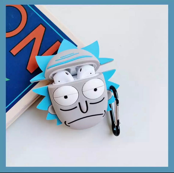 DDLGVERSE Rick Head AirPods Case