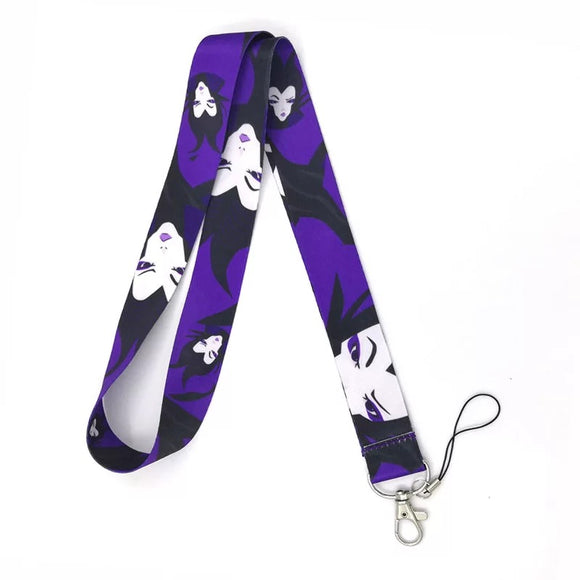 Maleficent Lanyard