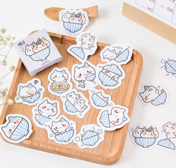Kawaii Kitten Stickers