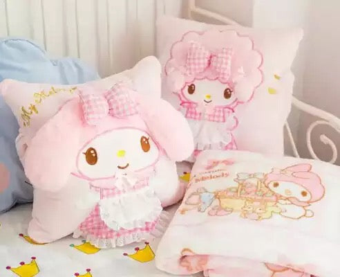 DDLGVERSE My Melody Cushion and Blanket Set