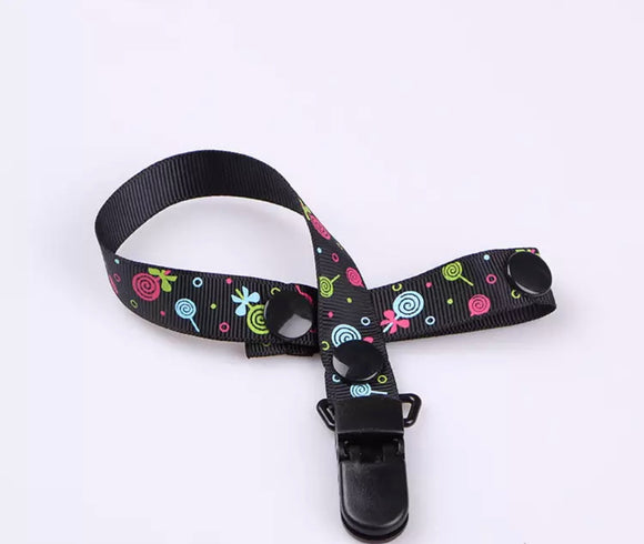Candy Land Pacifier Clip