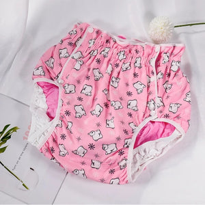 Polar Bear Diaper Cover