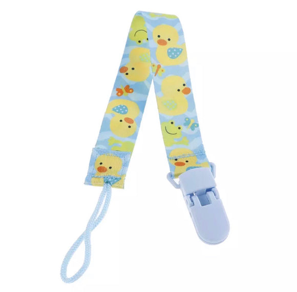 Duckies Pacifier Clip