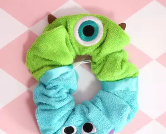 DDLGVERSE Monsters Inc Scrunchie