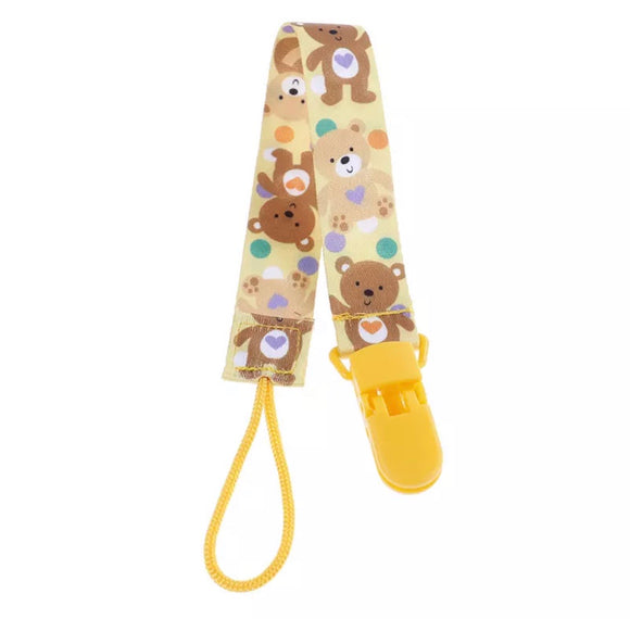 Teddy Bears Pacifier Clip