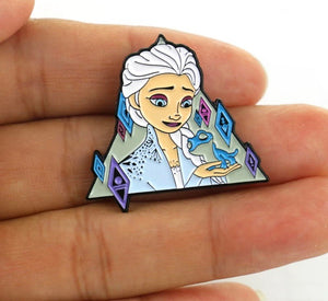 Elsa Ice Queen Pin