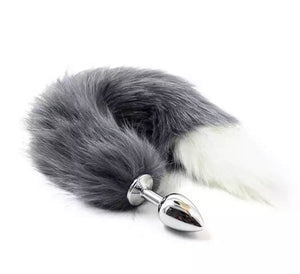Grey Ombré Tail Plug