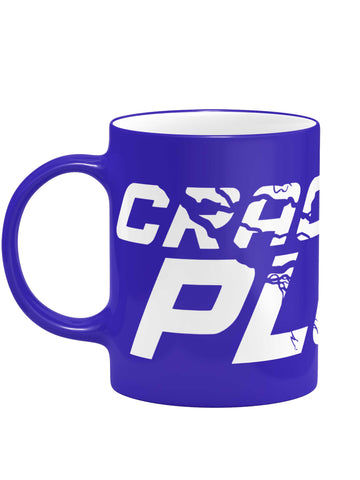 Cracking Plur Blue Matte Mug