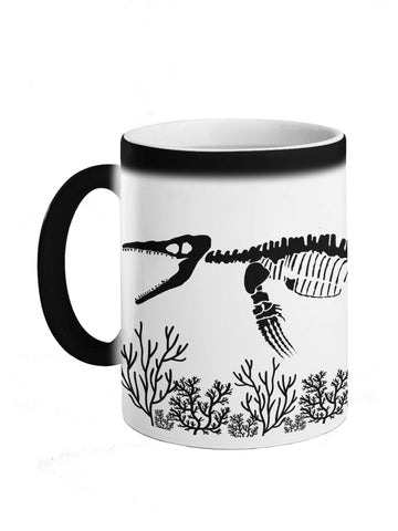 Heat Sensitive Mosasaur Mug