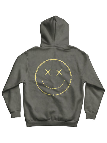 Limited Edition Washed Grey 'Krox' Hoodie