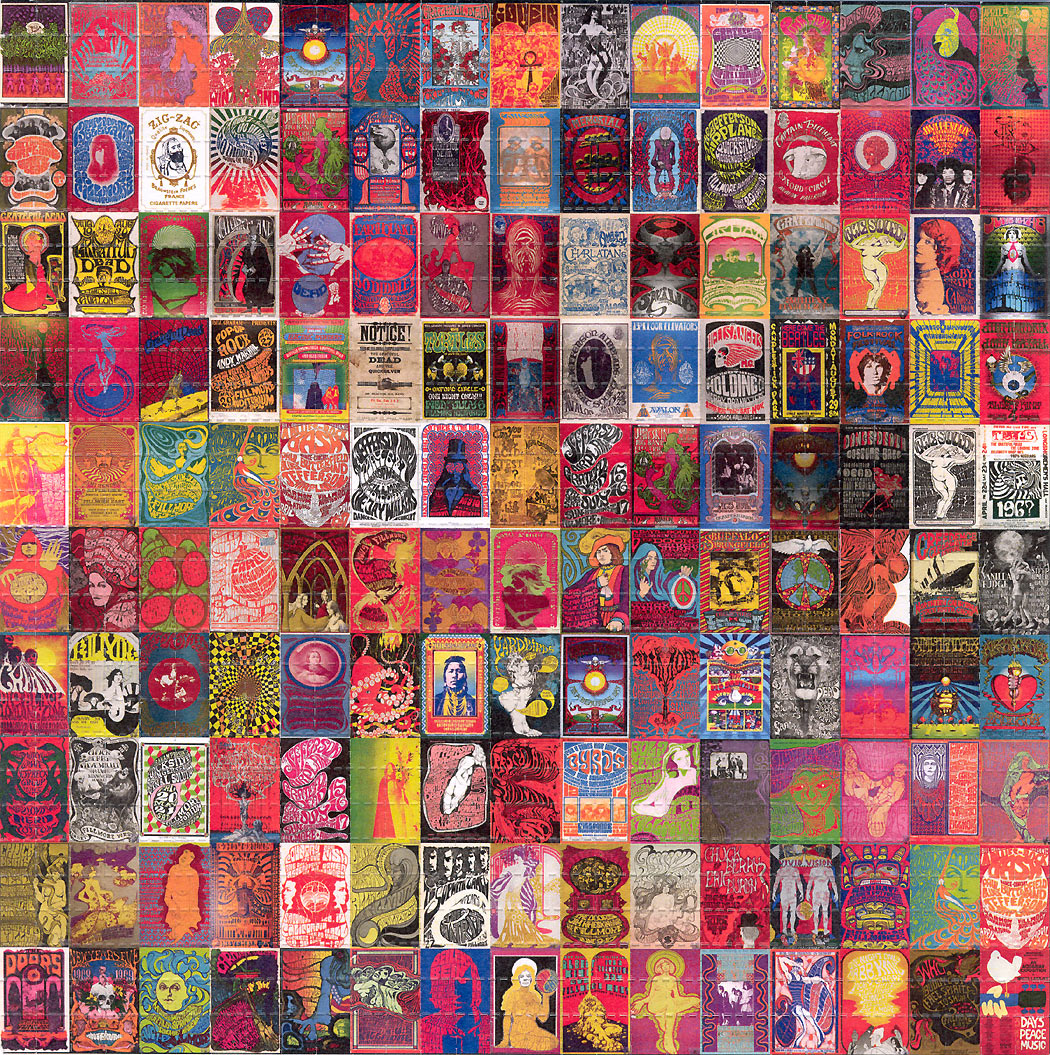 Sixties Classic Posters BLOTTER ART acid free perforated lsd paper