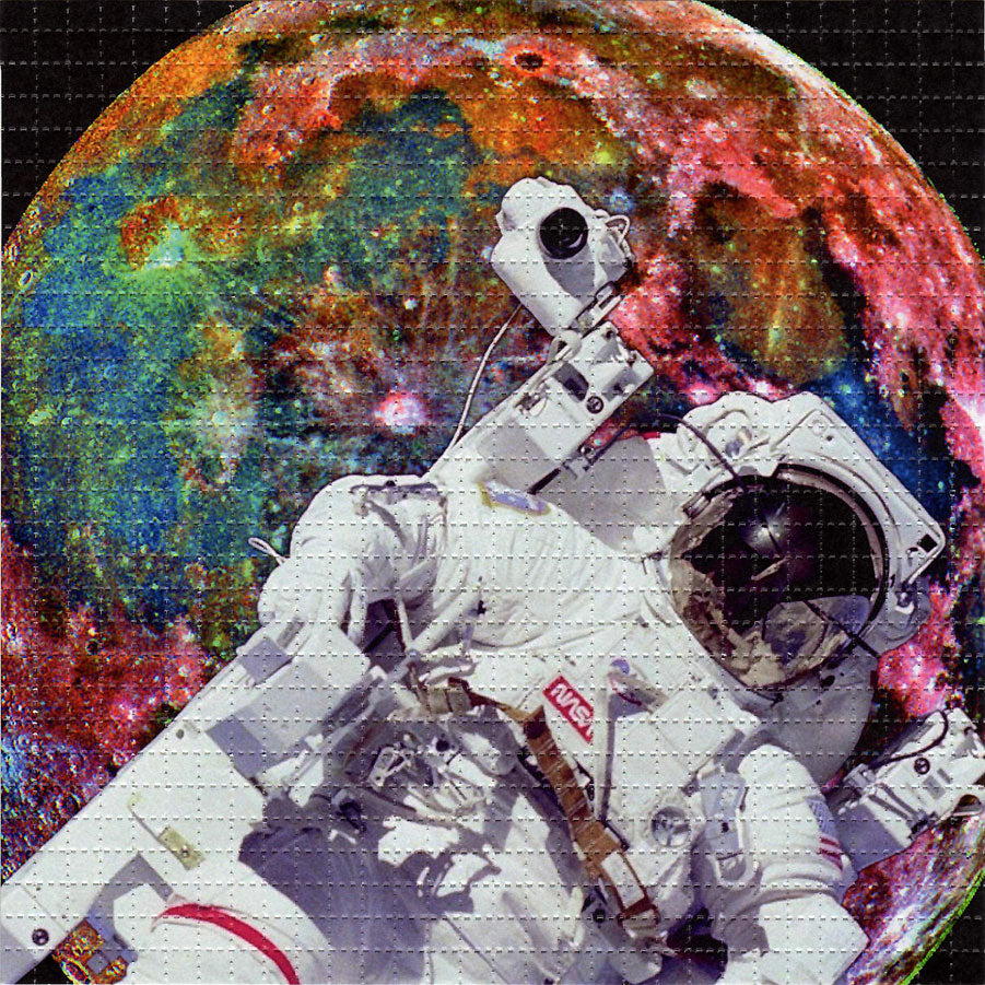Astronaut Major Tom BLOTTER ART acid free perforated lsd paper
