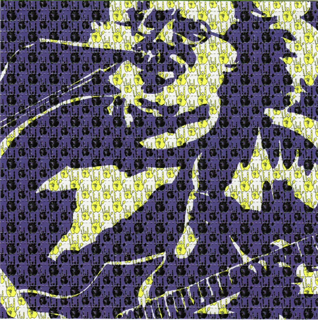 Jerry Garcia Hands BLOTTER ART acid free perforated lsd paper