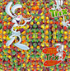 Trix Are For Kids BLOTTER ART acid free perforated lsd paper
