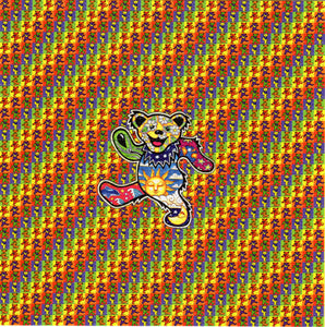 Small Dancing Bears Grateful Dead BLOTTER ART acid free perforated lsd paper