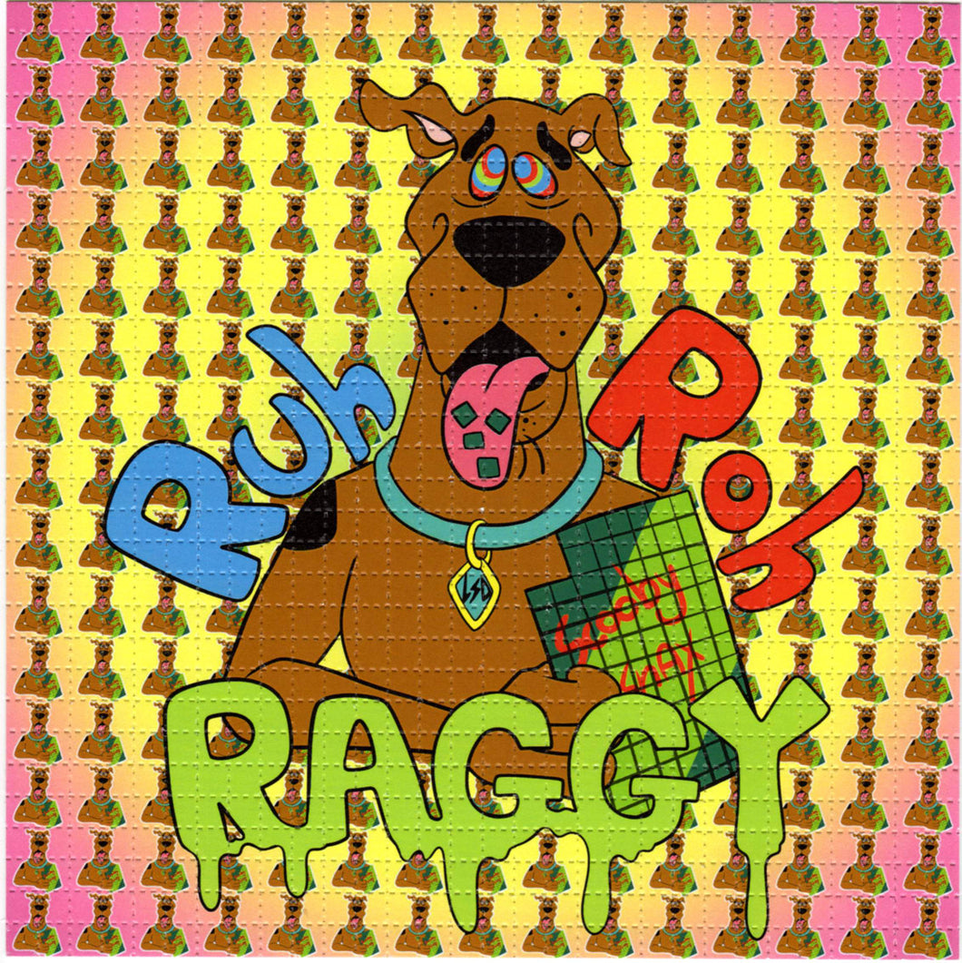 Ruh Roh Raggy Scooby Doo BLOTTER ART acid free perforated lsd paper