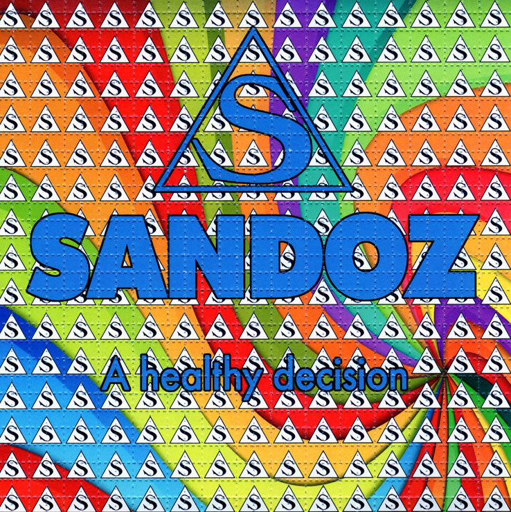 Sandoz BLOTTER ART acid free perforated lsd paper