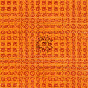 Orange Sunshine classic tribute BLOTTER ART acid free perforated lsd paper