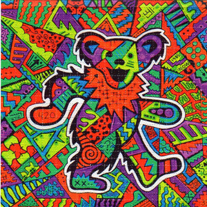 Dancing Bear by Areh BLOTTER ART acid free perforated lsd paper
