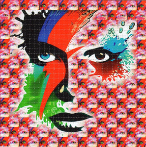 Ziggy Stardust BLOTTER ART acid free perforated lsd paper
