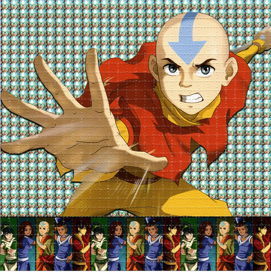 Last Airbender Aang BLOTTER ART acid free perforated lsd paper