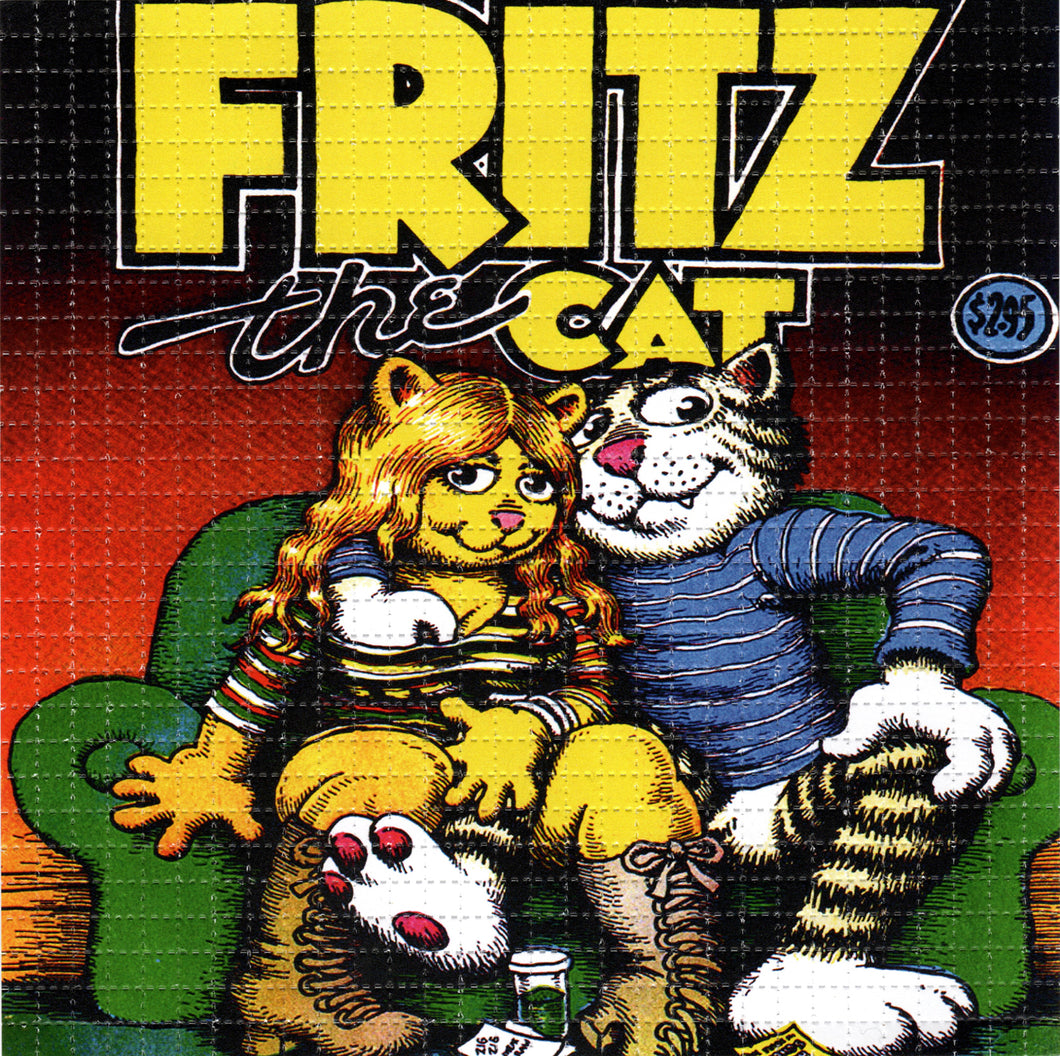 Fritz The Cat BLOTTER ART acid free perforated lsd paper