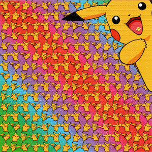 PIKACHU Tabs Pokemon Dance BLOTTER ART acid free perforated lsd paper