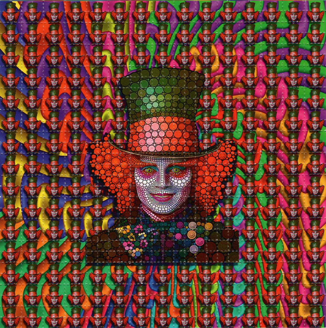 Depp Mad Hatter Rounds BLOTTER ART acid free perforated lsd paper