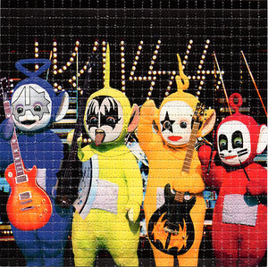KISS Teletubbies Band BLOTTER ART acid free perforated lsd paper