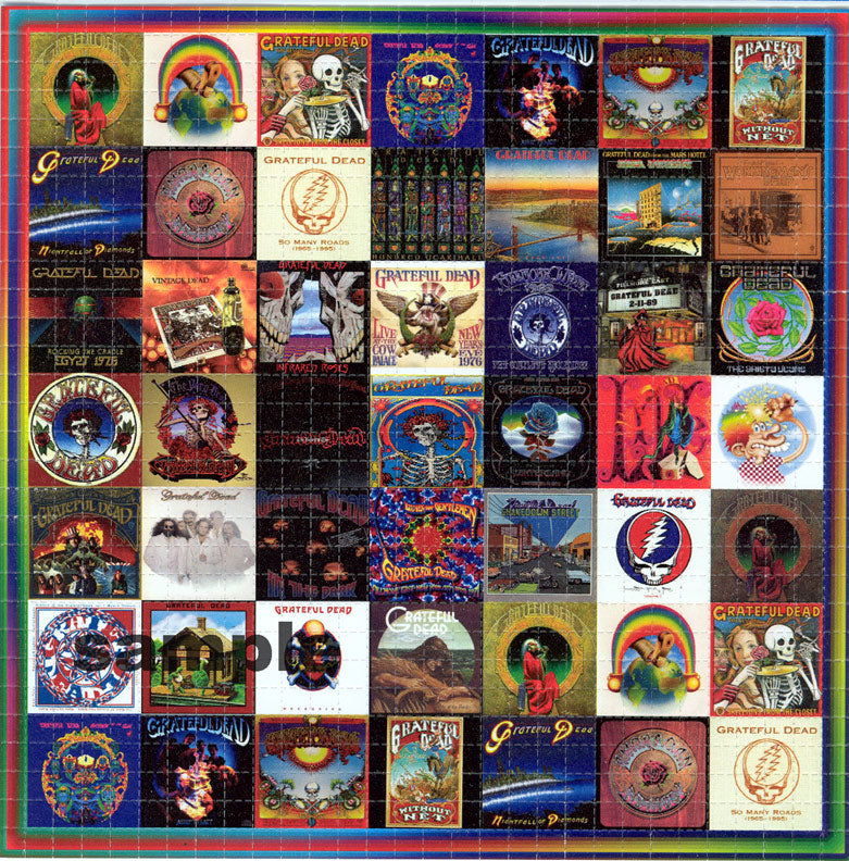 Grateful Dead Albums BLOTTER ART acid free perforated lsd paper
