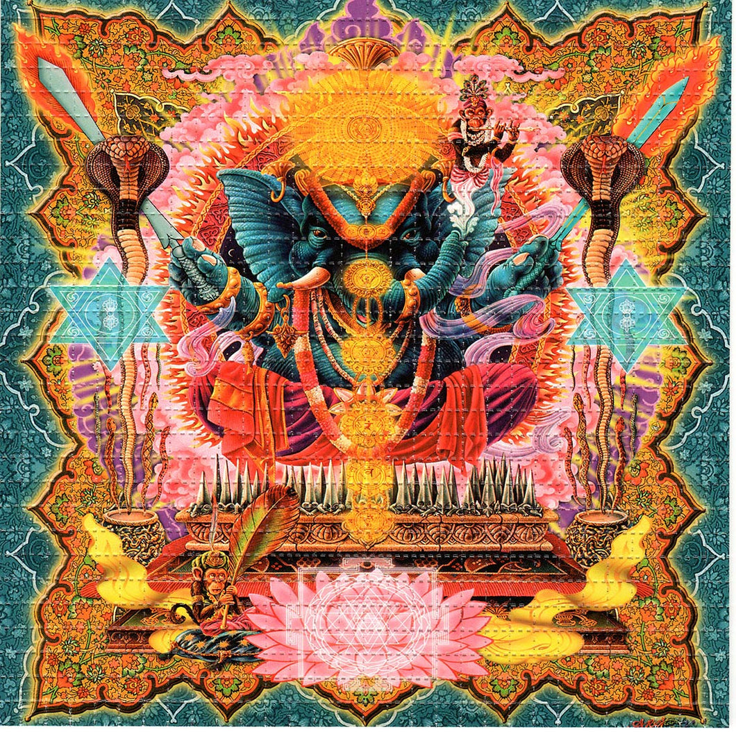 Ganesh BLOTTER ART acid free perforated lsd paper