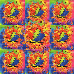 Autumn Grateful Dead X9 classic original design BLOTTER ART acid free perforated lsd paper