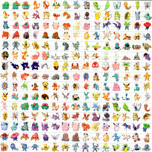 151 Original Pokemon BLOTTER ART acid free perforated lsd paper
