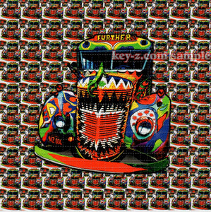 Big/Little Furthur Bus classic original design BLOTTER ART acid free perforated lsd paper